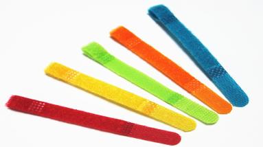 彩色P型魔术贴扎带